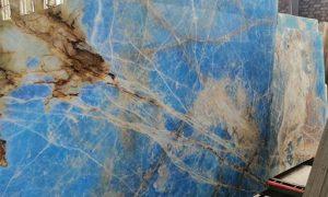 اسلب سنگ مرمر اونیکس آبی
